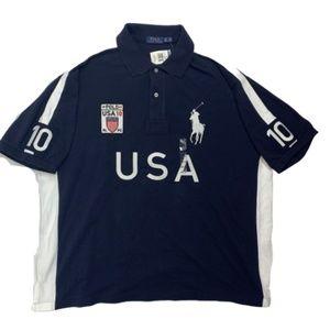 Polo Ralph Lauren USA Rugby Polo Shirt #10 2XB